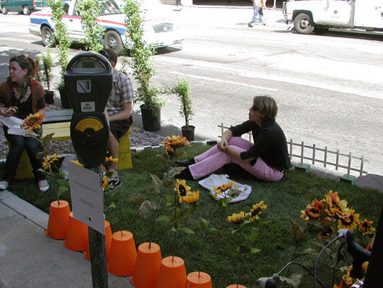 PARK(ING) DAY w San Francisco
