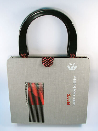 Vintage software bag